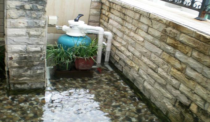 鱼池过滤器
